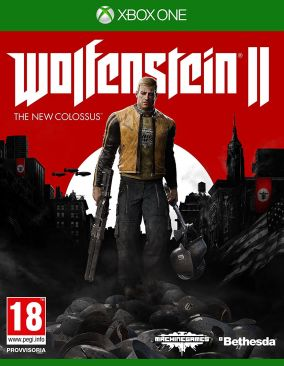 Copertina del gioco Wolfenstein II: The New Colossus per Xbox One