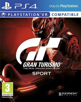 Immagine della copertina del gioco Gran Turismo Sport per Playstation 4