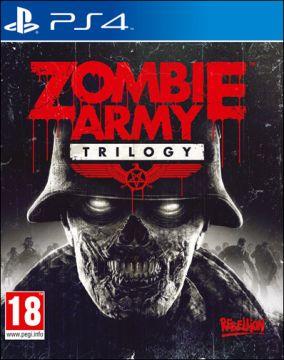 Copertina del gioco Zombie Army Trilogy per Playstation 4