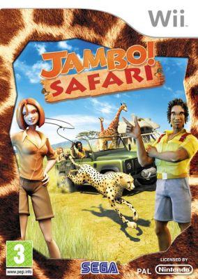Copertina del gioco Jambo! Safari per Nintendo Wii