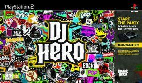 Copertina del gioco DJ Hero per Playstation 2