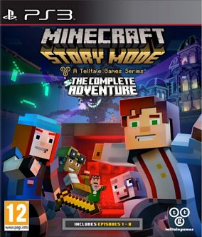 Copertina del gioco Minecraft: Story Mode per Playstation 3