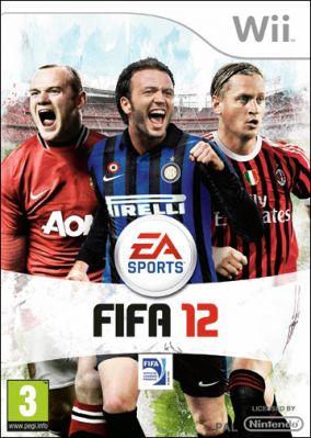 Immagine della copertina del gioco FIFA 12 per Nintendo Wii