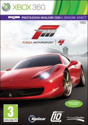 Immagine della copertina del gioco Forza Motorsport 4 per Xbox 360