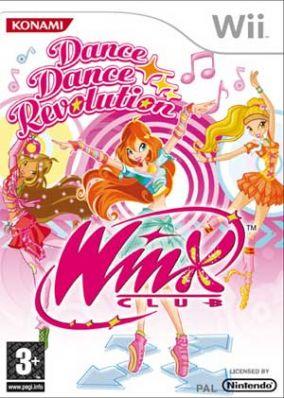 Copertina del gioco Dance Dance Revolution WinX Club per Nintendo Wii