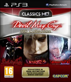 Immagine della copertina del gioco Devil May Cry HD Collection per Playstation 3