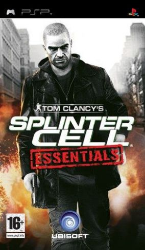 Immagine della copertina del gioco Tom Clancy's Splinter Cell Essentials per Playstation PSP