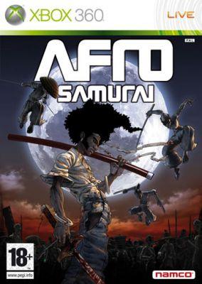 Copertina del gioco Afro Samurai per Xbox 360