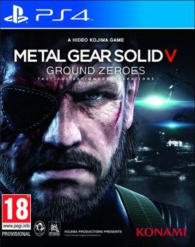 Immagine della copertina del gioco Metal Gear Solid V: Ground Zeroes per Playstation 4