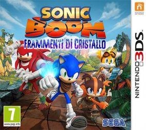 Copertina del gioco Sonic Boom: Frammenti di cristallo per Nintendo 3DS