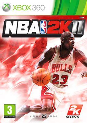 Immagine della copertina del gioco NBA 2K11 per Xbox 360