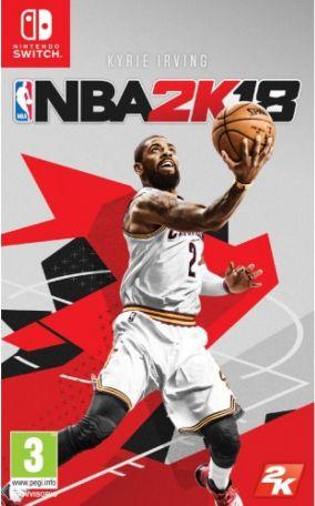 Immagine della copertina del gioco NBA 2K18 per Nintendo Switch