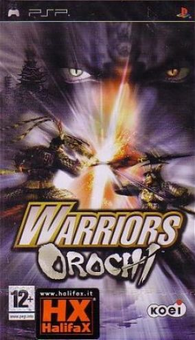 Copertina del gioco Warriors Orochi per Playstation PSP