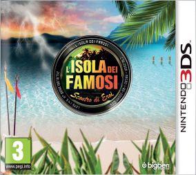 Copertina del gioco L'Isola dei Famosi: Scontro di Eroi per Nintendo 3DS