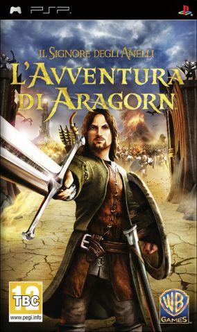 Immagine della copertina del gioco Il Signore degli Anelli: L'Avventura di Aragorn per Playstation PSP