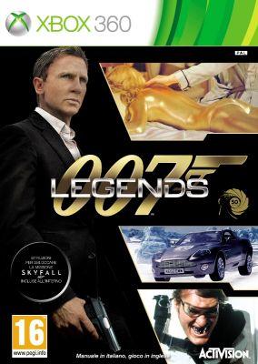 Copertina del gioco 007 Legends per Xbox 360
