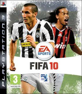 Immagine della copertina del gioco FIFA 10 per Playstation 3