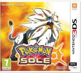 Copertina del gioco Pokemon Sole per Nintendo 3DS