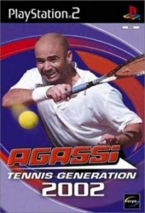 Copertina del gioco Agassi Tennis Generation 2002 per Playstation 2