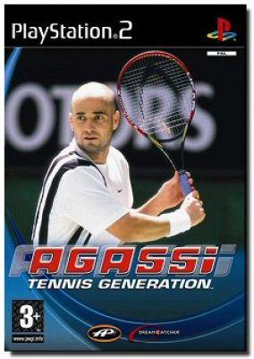 Copertina del gioco Agassi  Tennis Generation  per Playstation 2