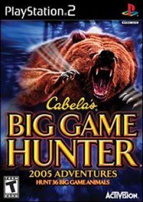 Copertina del gioco Cabela's Big Game Hunter 2005 Adventures per Playstation 2