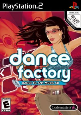 Copertina del gioco Dance Factory per Playstation 2