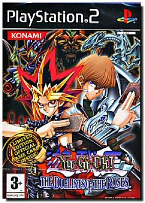 Copertina del gioco Yu-Gi-Oh! Duelist Of The Rose per Playstation 2