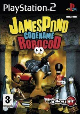 Copertina del gioco James Pond Codename RoboCod per Playstation 2