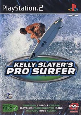 Copertina del gioco Kelly slater's pro surfer per Playstation 2