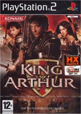 Copertina del gioco King Arthur per Playstation 2