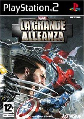 Immagine della copertina del gioco Marvel: La Grande Alleanza per Playstation 2