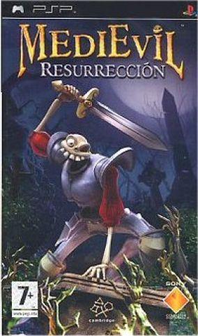 Immagine della copertina del gioco Medievil resurrection per Playstation PSP