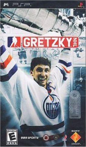 Immagine della copertina del gioco NHL Gretzky Hockey per Playstation PSP