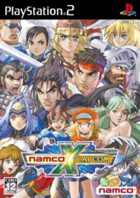 Copertina del gioco Namco x Capcom per Playstation 2