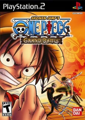 Copertina del gioco One Piece: Grand battle per Playstation 2