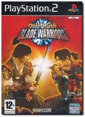 Copertina del gioco Onimusha Blade Warriors per Playstation 2