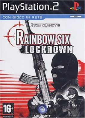 Copertina del gioco Rainbow six Lockdown per Playstation 2
