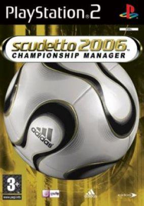 Immagine della copertina del gioco Scudetto 2006 per Playstation 2