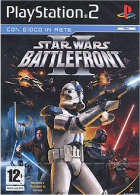 Immagine della copertina del gioco Star Wars Battlefront II per Playstation 2