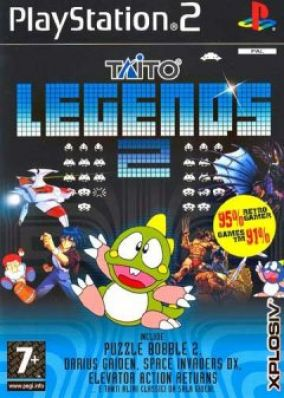 Copertina del gioco Taito Legends 2 per Playstation 2