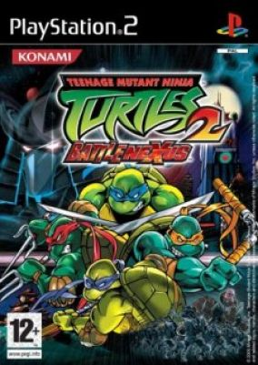 Copertina del gioco Teenage Mutant Ninja Turtles 2: Battlenexus per Playstation 2