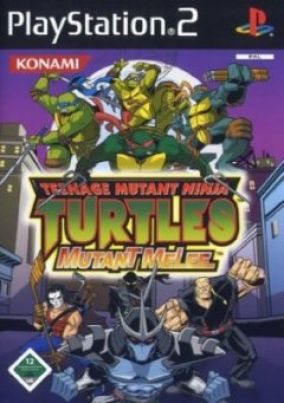 Copertina del gioco Teenage Mutant Ninja Turtles 3: Mutant Melee per Playstation 2