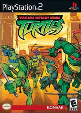 Copertina del gioco Teenage Mutant Ninja Turtles per Playstation 2