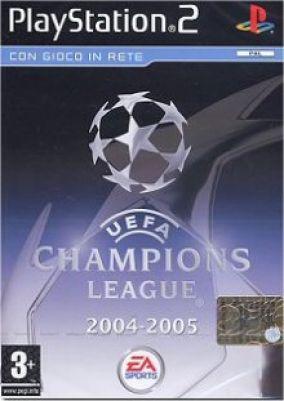 Copertina del gioco Uefa Champions League 2004-2005 per Playstation 2
