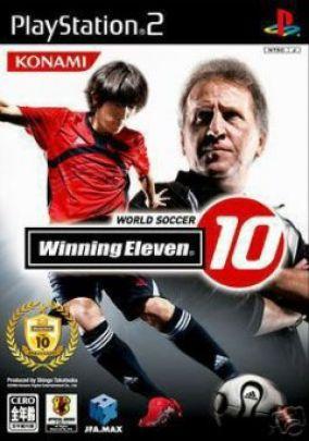 Immagine della copertina del gioco Winning Eleven 10 per Playstation 2
