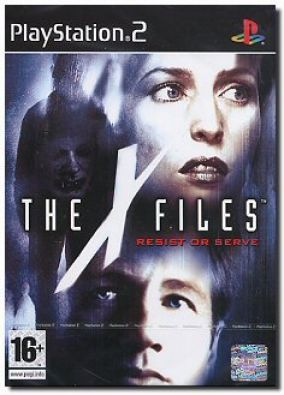 Copertina del gioco X-Files: Resist or Serve per Playstation 2