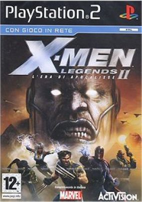 Copertina del gioco X-Men Legends 2: L'era di Apocalisse per Playstation 2