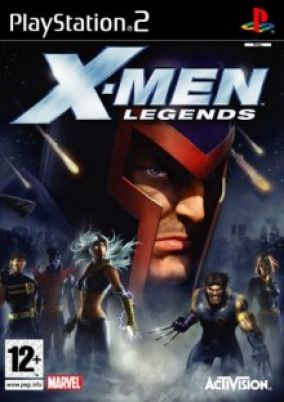 Copertina del gioco X-Men Legends per Playstation 2