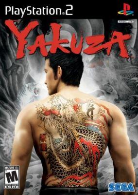 Copertina del gioco Yakuza per Playstation 2