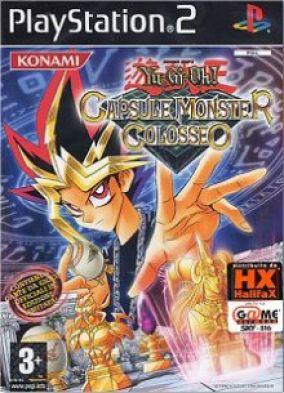 Copertina del gioco Yu-Gi-Oh! Capsule Monster Colosseo per Playstation 2